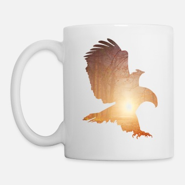 Moody forest eagle - Mug
