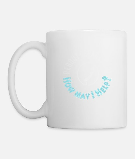 It Programmer Or Coder Definition Mugs & Drinkware - Funny Reboot Department IT computer gift - Mug white