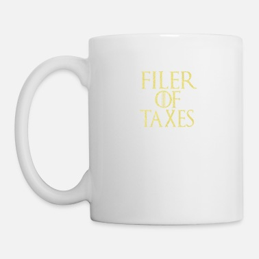 Clock Filer of taxes GOT parody for CPA or accountant - Mug