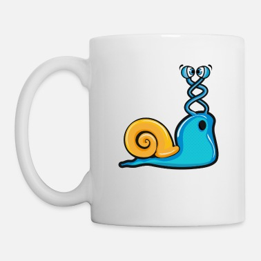 Loucher un escargot loucher - Mug