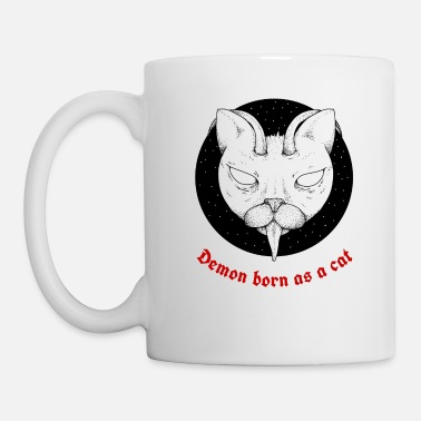 2017 Scary Cats and Kitten Demon Lover Butt in Art - Mug