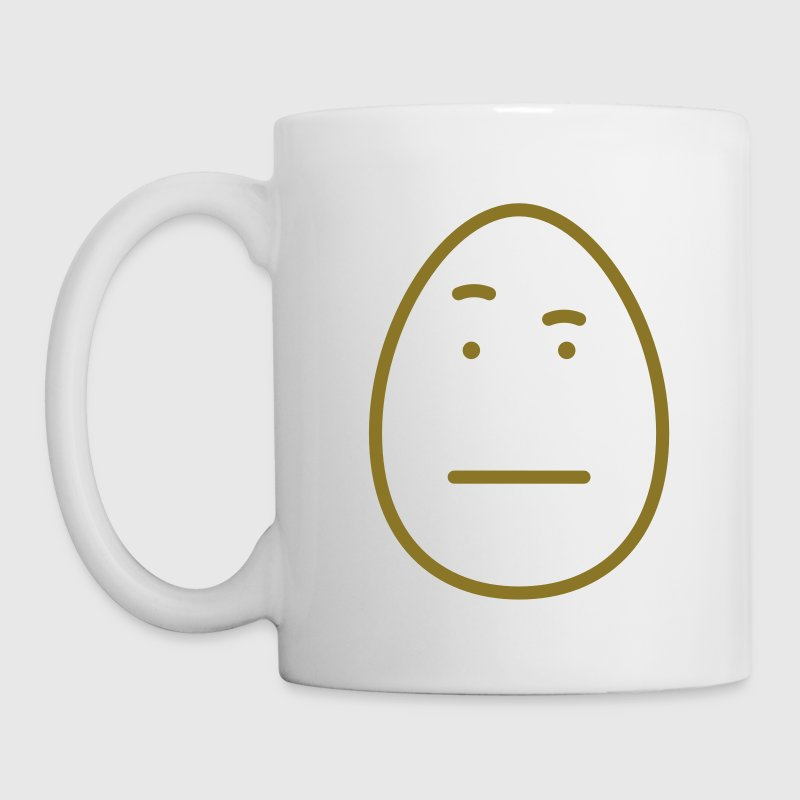 Egg Face Raised Eyebrow By Pink Hybrid Spreadshirt