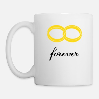 Sagesse wedding rings forever - Mug