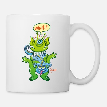 Speech Big monster eat little monster - Mug