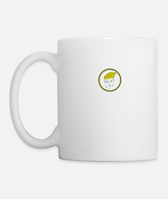 Party Mugs & Drinkware - face - Mug white