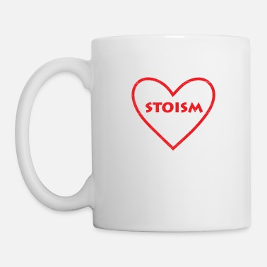 Greek Love Stoic Stoic Stoicism Gift Idea - Mug