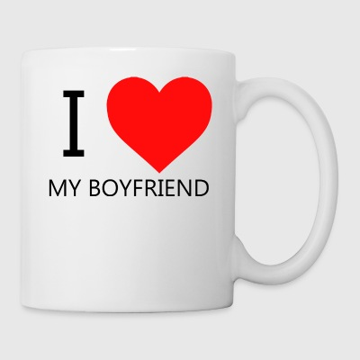 I LOVE MY BOYFRIEND T-SHIRT - Mug