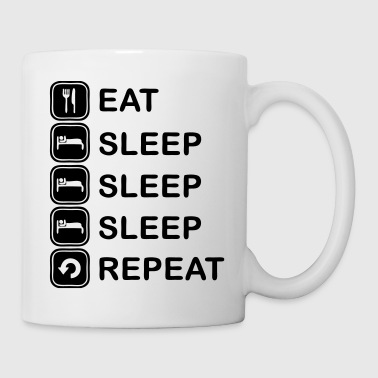Eat, sleep, sleep, sleep, repeat - Kubek