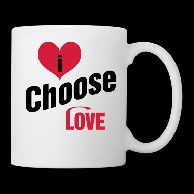 Je choisis Love Design par @PAN de la Scandinavie - Mug blanc