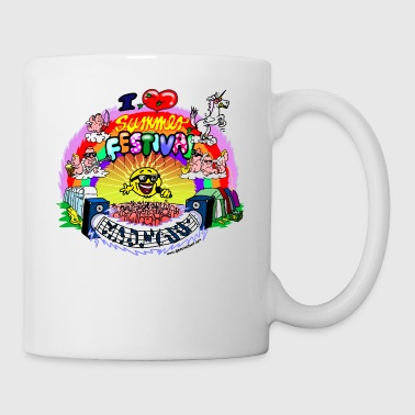 I LOVE summer festival madness - Mug
