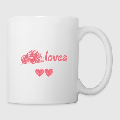 Jeep driver love off-road vehicle off-road gift - Mug