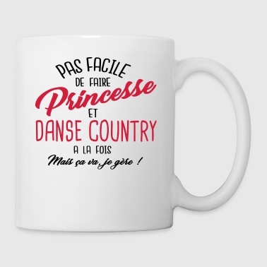 Princesse et danse country - Tasse