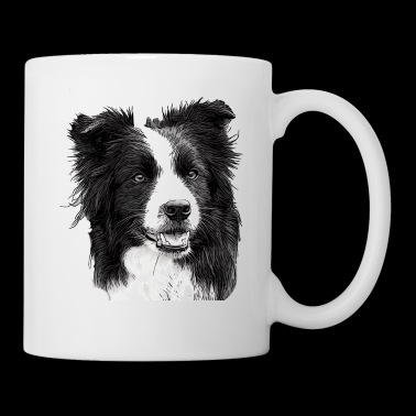 Border Collie - Mug blanc