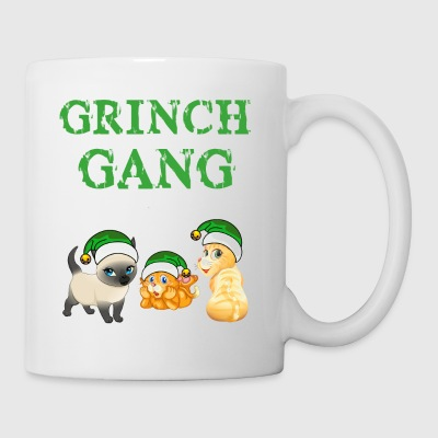 Grinch Natale Cat Gang - Tazza