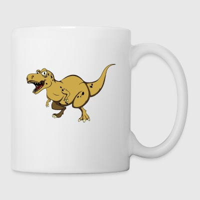 Rawr means I love you in dinosaur language - Mug