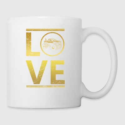 love calling profi king meister Big Foot monster t - Tasse