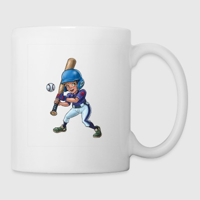 Little baseball player - Mug