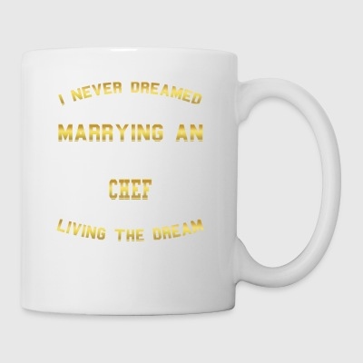 MARRY WIFE HUSAND SUPER SEXY CHEF - Tasse