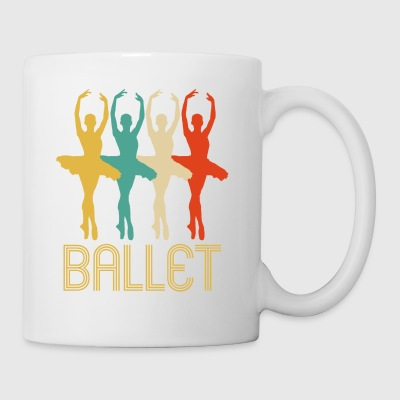 Awesome Retro Pop Art Ballet Gifts voor Ballerina's - Mok