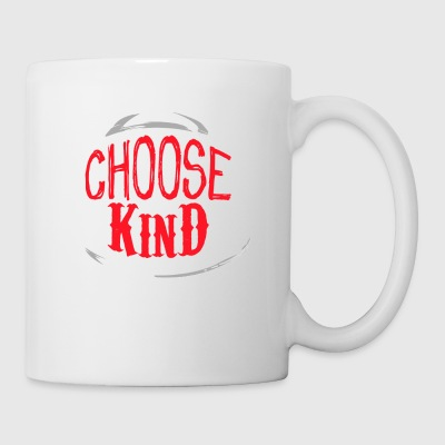 Choose Kind Red - Taza