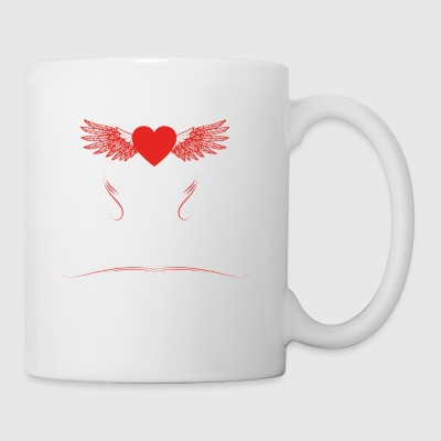 gift heart beats girlfriend skateboarder - Mug