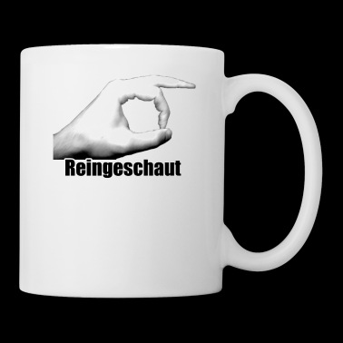 Reingeschaut-Design - Tasse