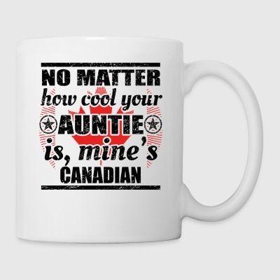 no matter auntie cool aunt gift Canada png - Mug