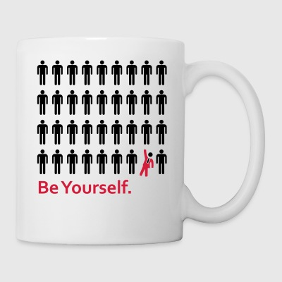 Be Yourself - Tasse