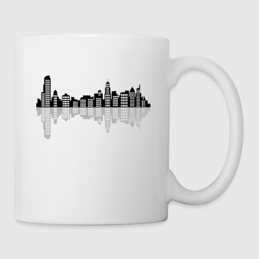 horizon de chicago - Tasse