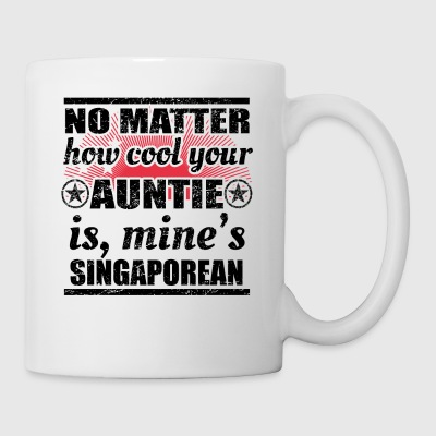 no matter auntie cool tante gift Singapur png - Tasse