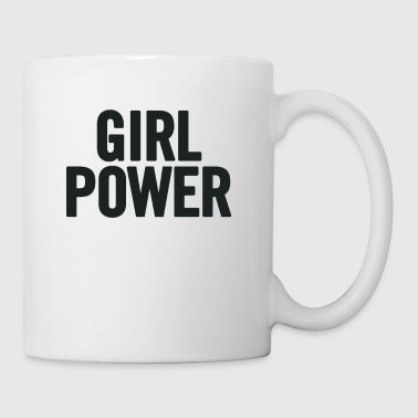 Girl Power Black - Mugg