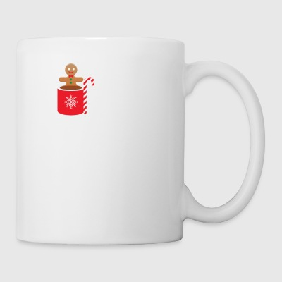 But First Coffe Then Presents Gingerbread Man Cook - Mug