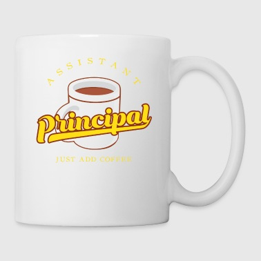 Assistant Principal Add Coffee Gift - Tasse