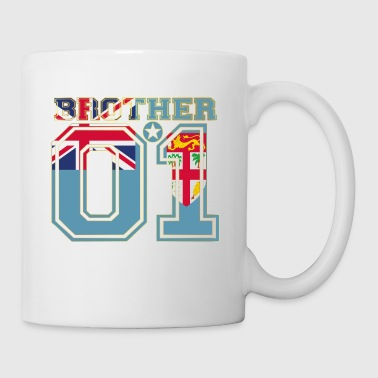 brother brother brother 01 partner Fiji - Mug