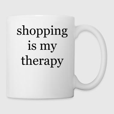 Shopping-Therapie - Tasse