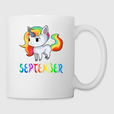 Einhorn September - Tasse