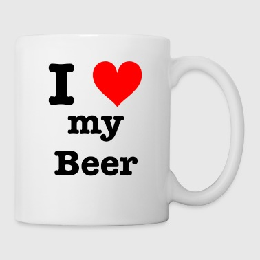 I love my beer - Tasse