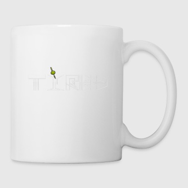 Tired martini cocktail design - Tasse