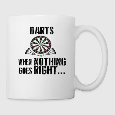 If everything goes wrong dart darts - Mug