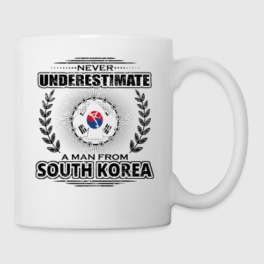Never underestimate man roots SOUTH KOREA png - Mug