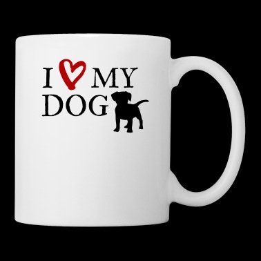 I love my dog - Tasse