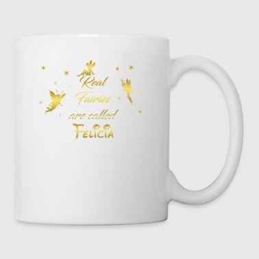 fairy fairies fairy first name Felicia - Mug