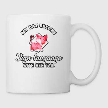 Langue de chat - Tasse
