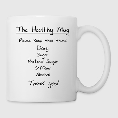 Shop sugar free gifts online spreadshirt the healthy mug mug negle Images