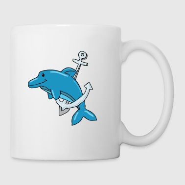 Dolphin whaling saves the whales gift - Mug