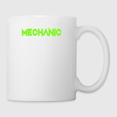 Mécanicien Attention Flying Tools Gift - Tasse