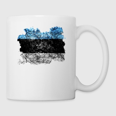 Estonia vintage flag - Tazza