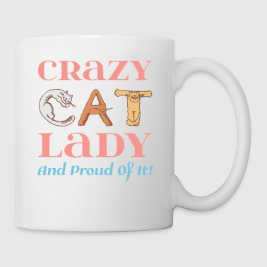 Madame folle de chat et fier! - Tasse