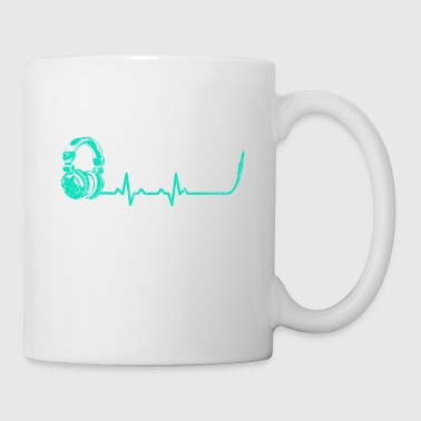 Heartbeats Disc Jockey T-shirt - Tasse