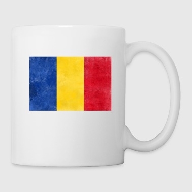 Romania flag - Tazza